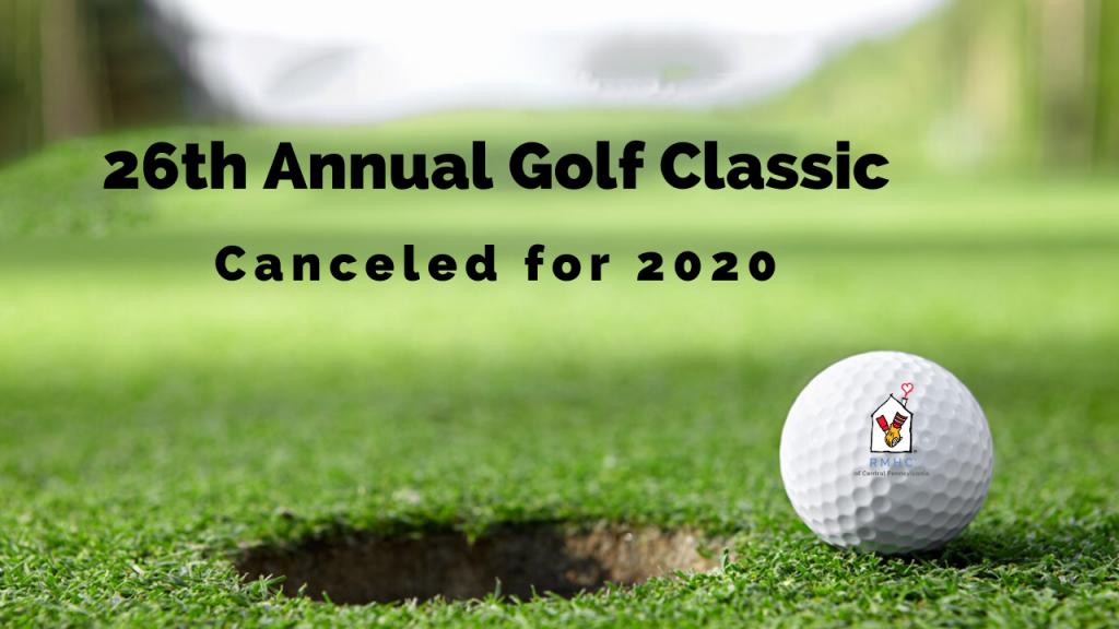 Golf Classic Canceled